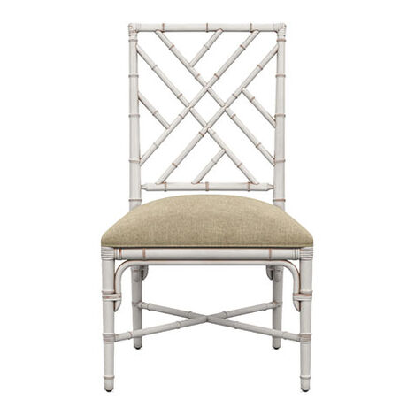 Lian Side Chair, Milk White ,  , large