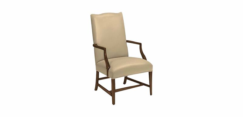 Martha Washington Leather Chair
