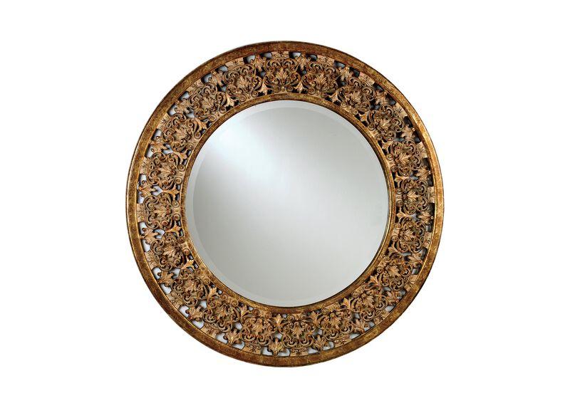 Round Florentine Mirror