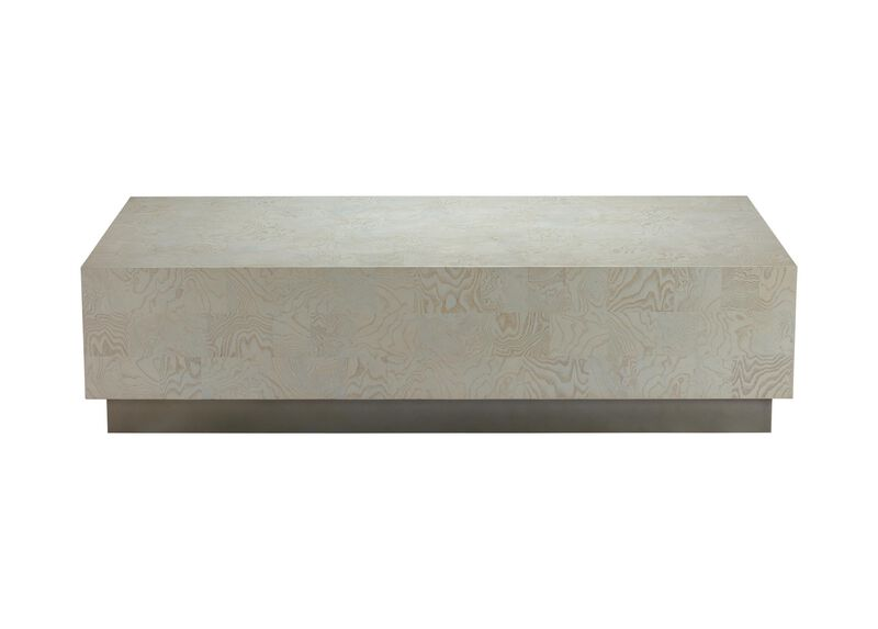 Braemore Rectangular Plinth-Base Coffee Table