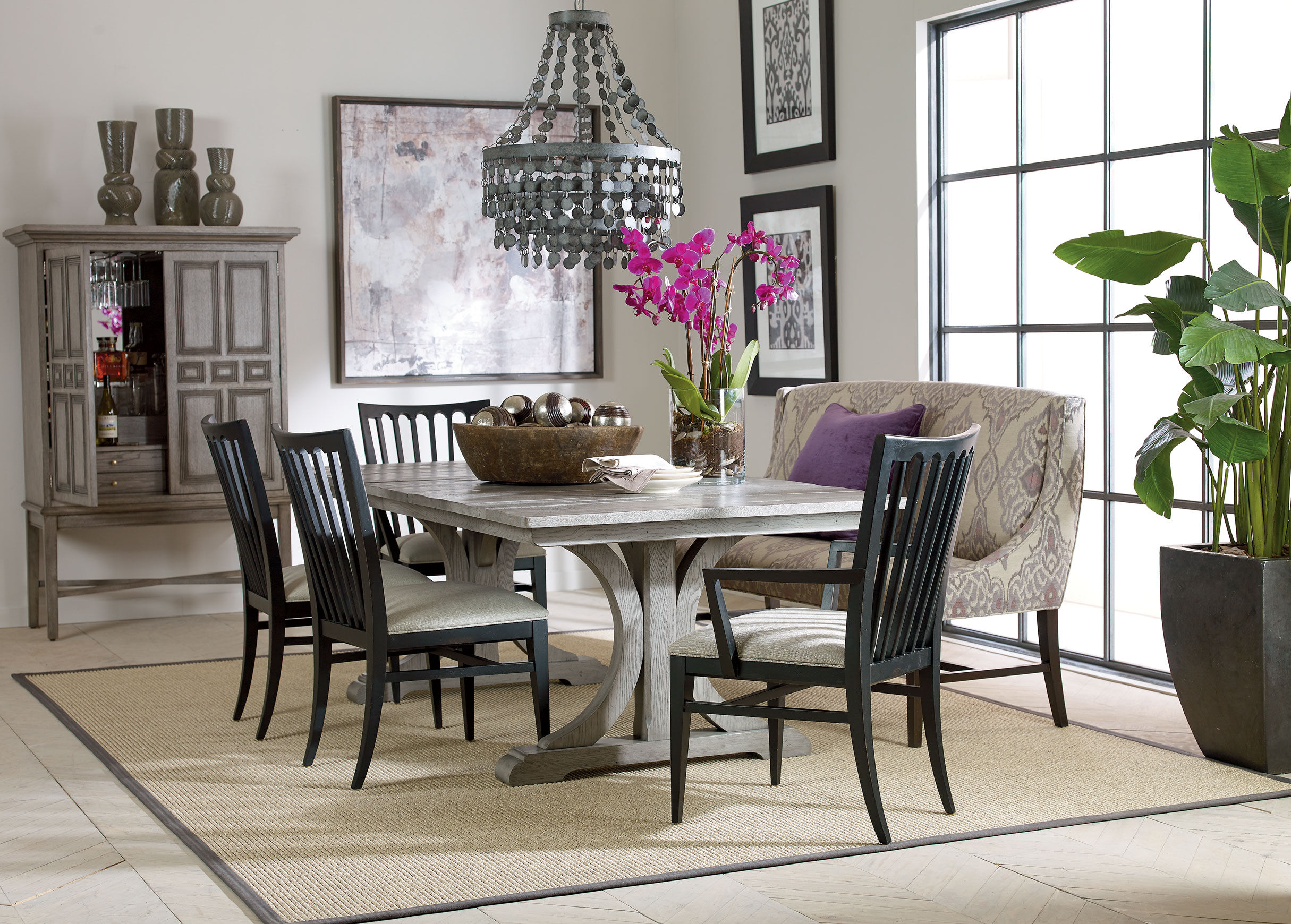ethan allen counter height table