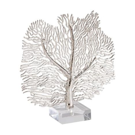 Silver Coral Sculpture Product Tile Image 437356