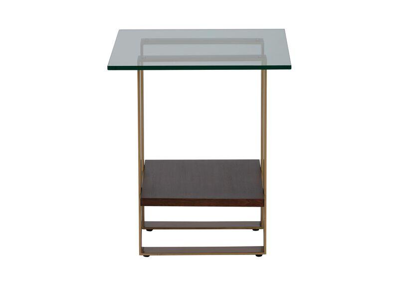Rosemoor Glass-Top End Table