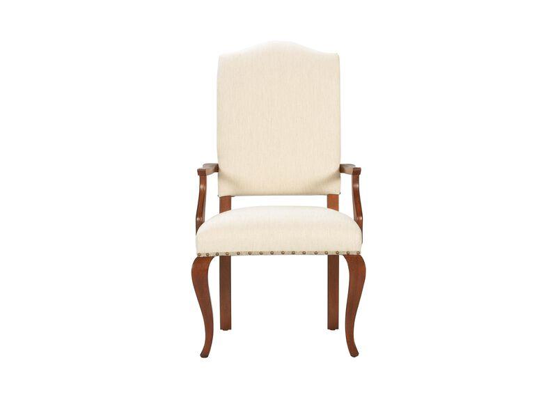 Hadley Cabriole-Leg Armchair ,  , large_gray