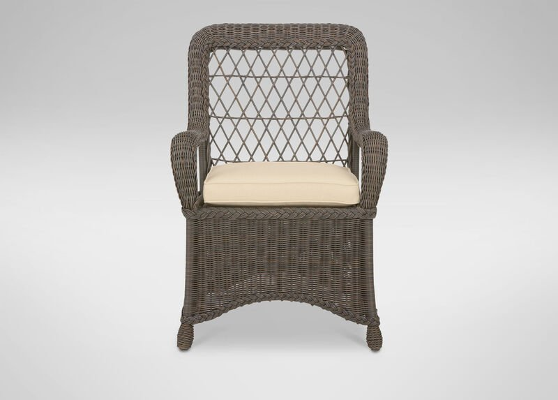 Lakehouse Dining Armchair , Hatcher Oatmeal (P4233) , large_gray