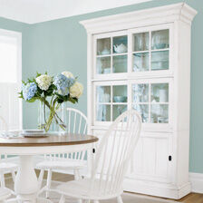shop dining room storage display cabinets ethan allen ethan allen rh ethanallen com white dining room cupboard white corner dining room cabinet