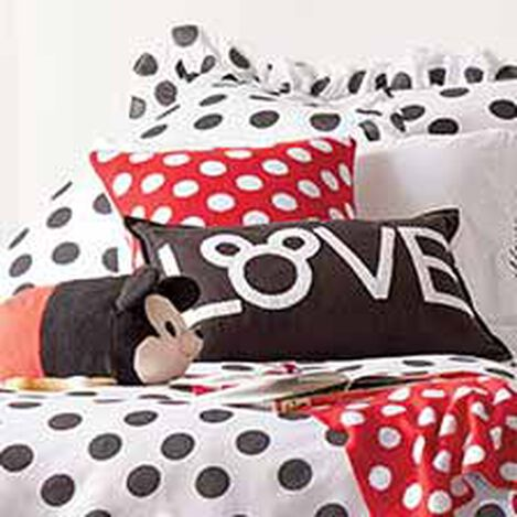 Mickey Mouse Love Pillow, Mickey's Ears ,  , hover_image