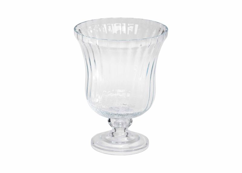 Optic Glass Vase