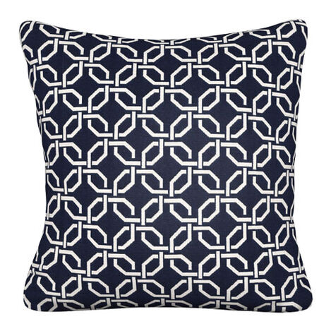 Lyle Indigo Outdoor Pillow ,  , large