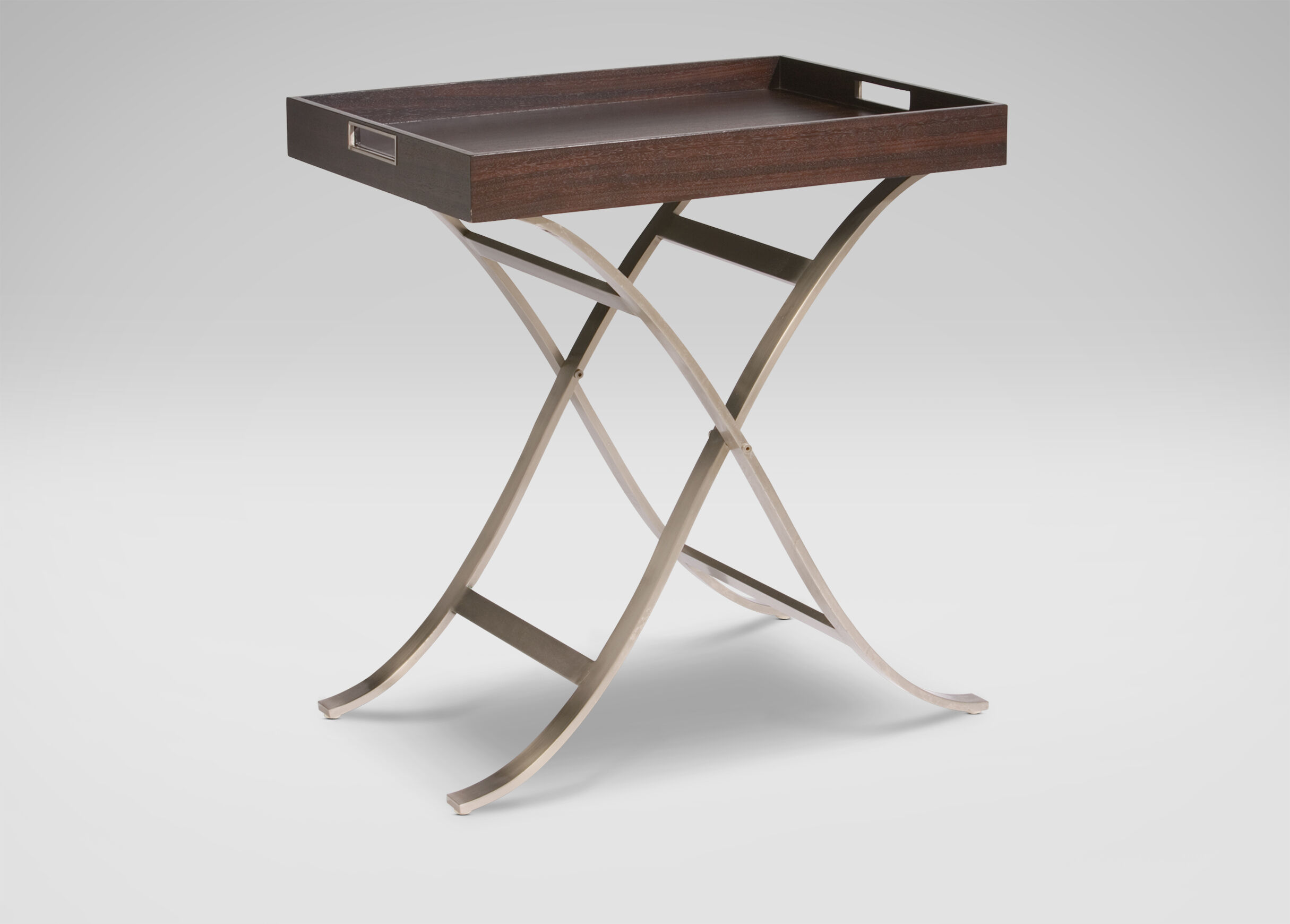 Beautiful Images Modern Tray Table , , Large_gray