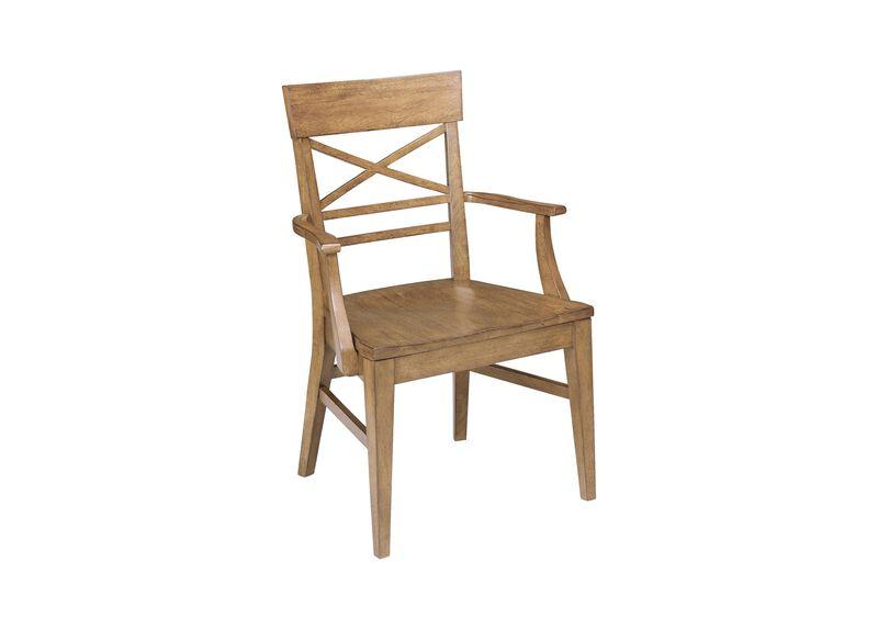 Blake Wood-Seat Armchair