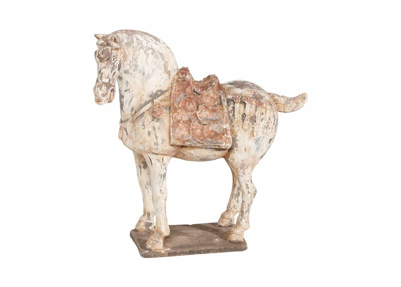 Antique Tang Horse ,  , large_gray