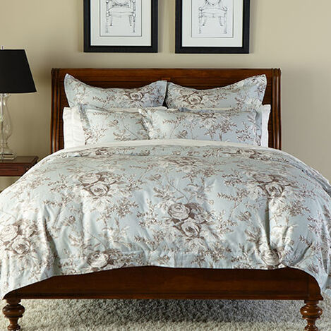 Loxley Floral Duvet Cover and Shams ,  , large