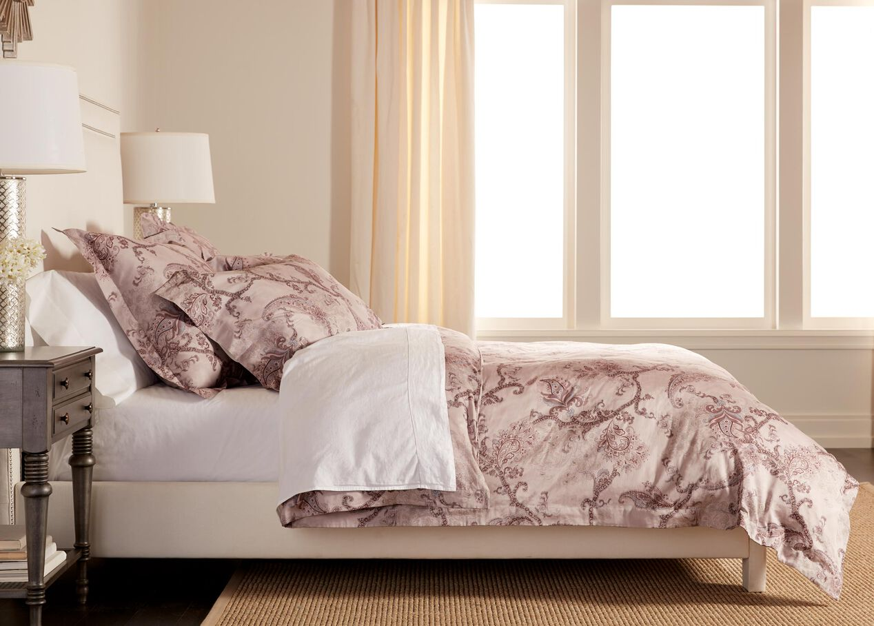 Henfield Paisley Duvet Cover And Shams Bedding Ethan Allen