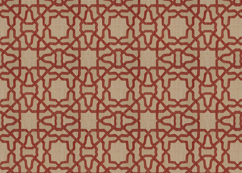 Mazy Red Fabric by the Yard ,  , large_gray