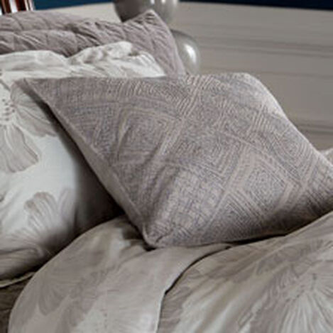 Modern Gray Diamond Cord Pillow ,  , hover_image