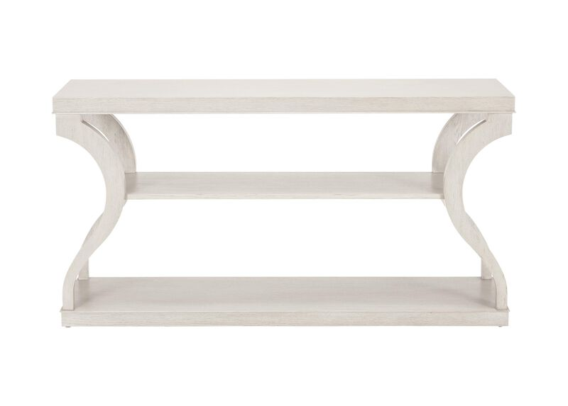 Donatella Oak Console