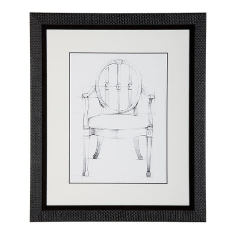 Historic Chair Sketch I Product Tile Image 071046A