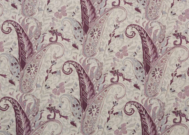Nabry Plum Fabric