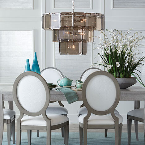 Raija Glass Chandelier Product Tile Hover Image 093626MST