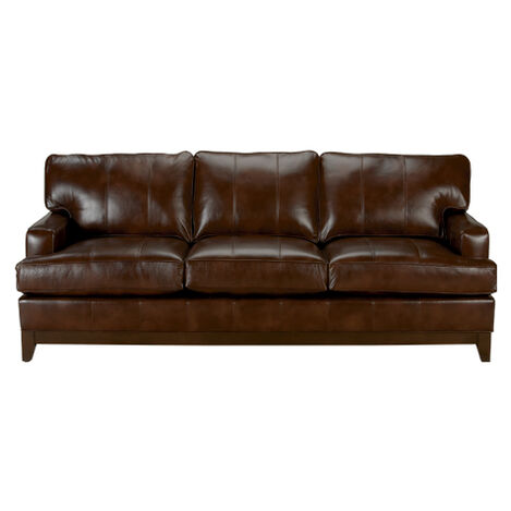 Average Ethan Allen Leather sofa -ethan Allen Hyde sofa 79