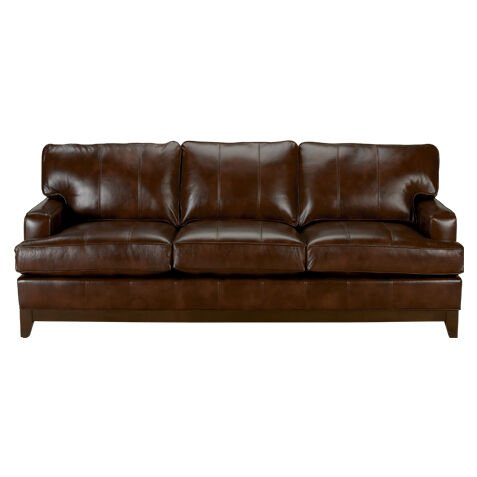 Arcata Leather Sofa, Quick Ship Part 72