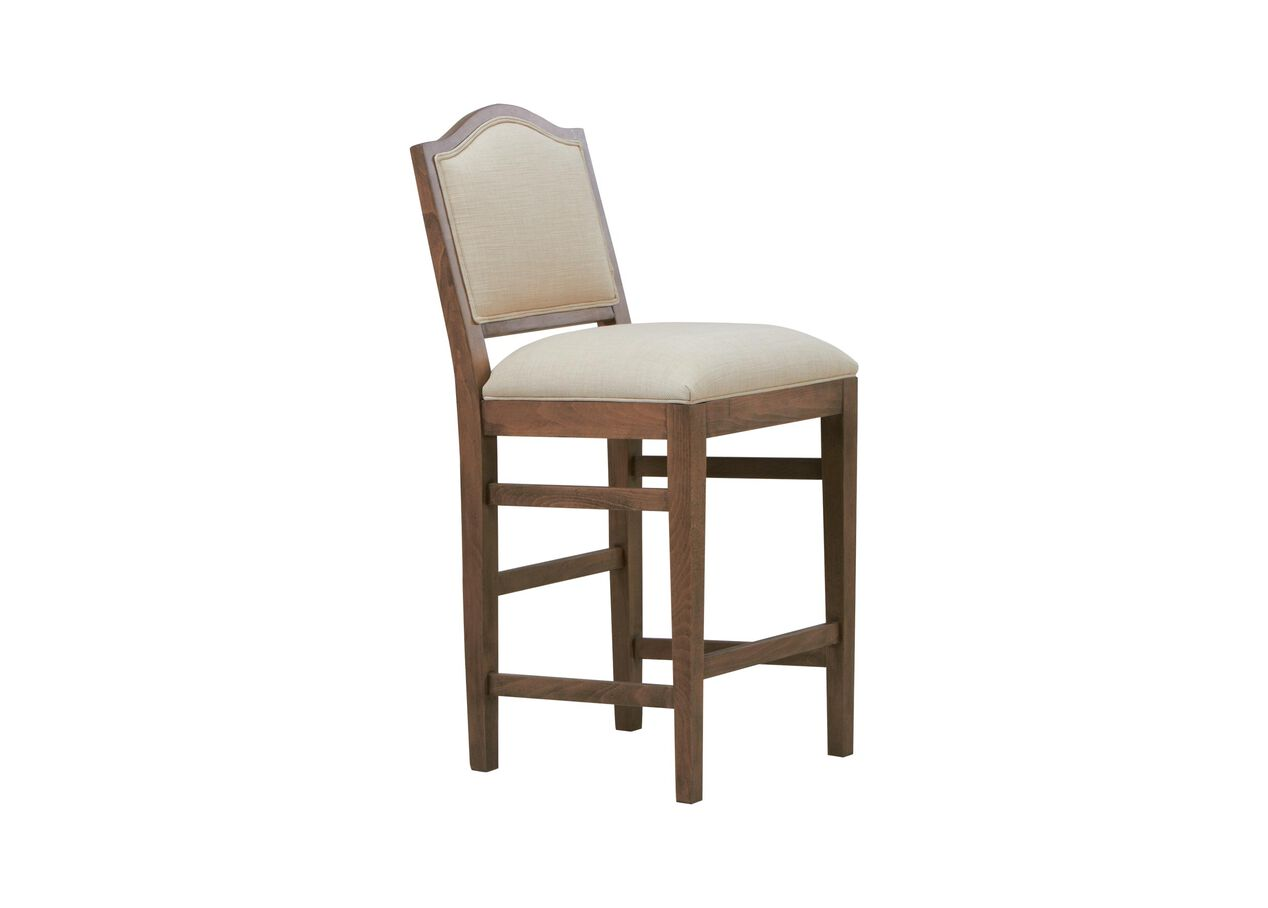Hayden Counter Stool Arched Top And Tapered Leg Bar Amp Counter Stools Ethan Allen