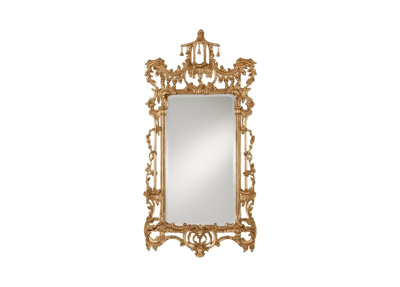 Gold Chinoiserie Mirror