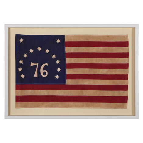 Vintage Bennington Flag ,  , large