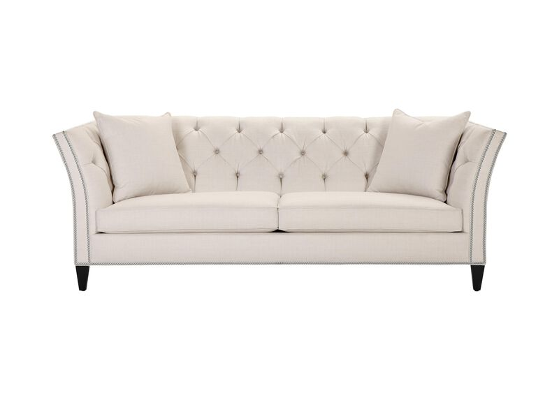 Shelton Sofa, Quick Ship , Hailey Ivory (Q1032), solid texture , large_gray