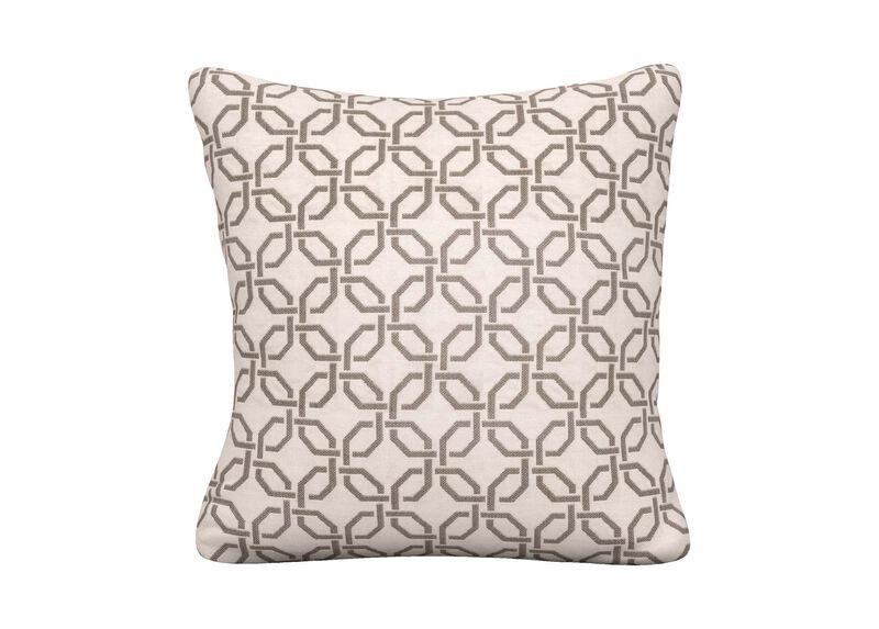 Lyle Gray Outdoor Pillow