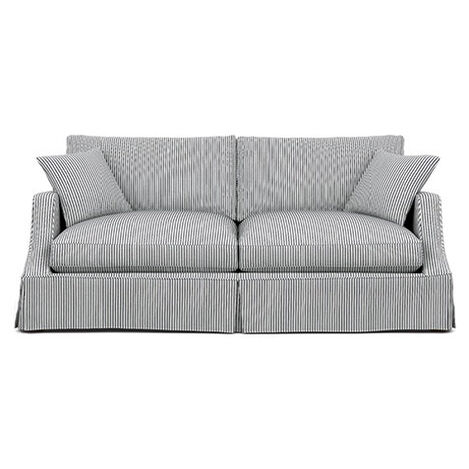 Lynn Slipcovered Sofa ,  , large