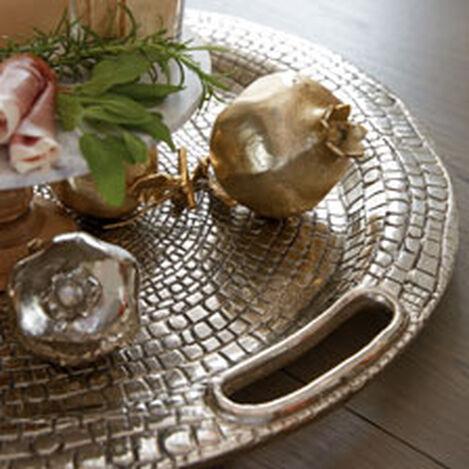 Round Croco Tray ,  , hover_image