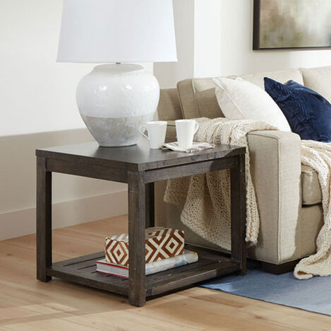 Gannett Metal-Top End Table Product Tile Hover Image 228022
