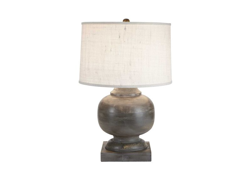 Mulberry wooden table lamp table lamps ethan allen
