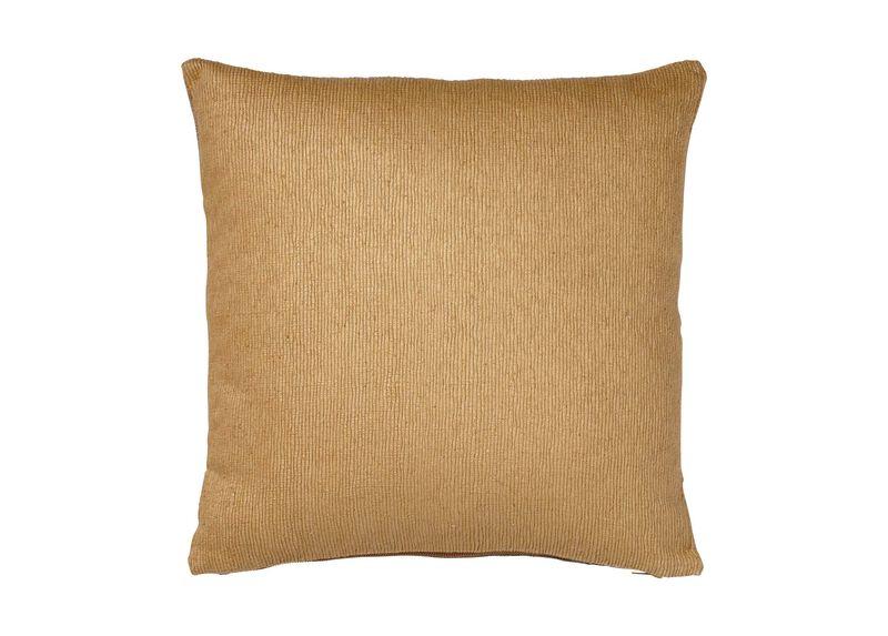 Gold Ribbed Pillow
