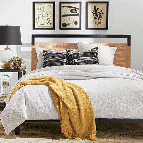 Landsdale Woven Platform Bed Product Tile Hover Image 145621