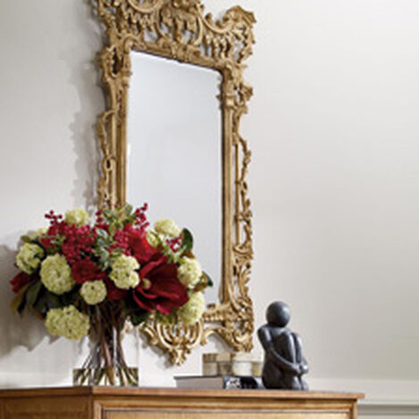 Gold Chinoiserie Mirror ,  , hover_image