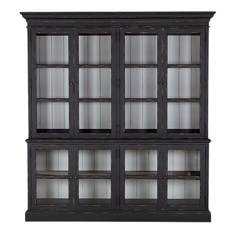 Sayville Four Door Glass Cabinet ,  , large
