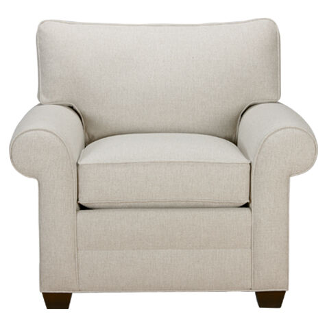 Awesome Bennett Roll Arm Chair, Quick Ship