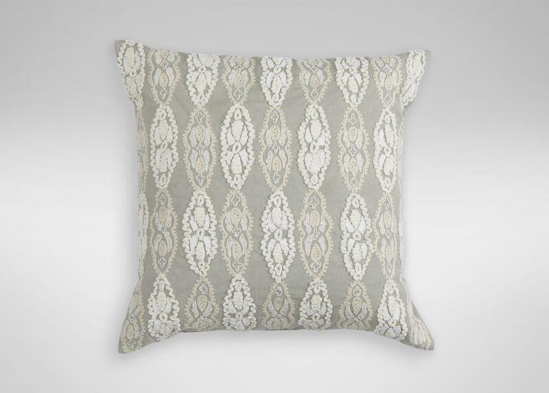 Giorgina Embroidered Decorative Pillow