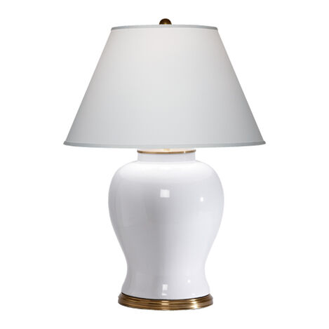 Shop table lamps lighting collections ethan allen keeley white table lamp large greentooth Gallery