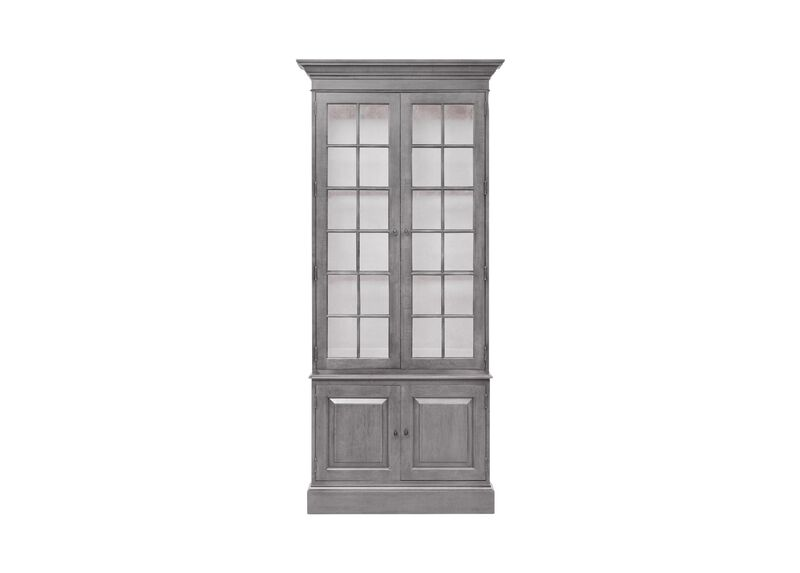 Villa Single Library Bookcase ,  , large_gray