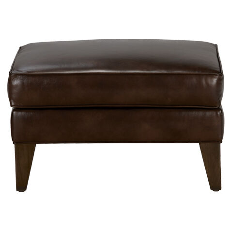 Shop Ottomans Leather Ottoman Bench Ethan Allen Ethan Allen