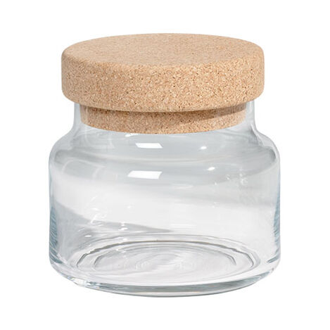 Cork Jar, Small ,  , large