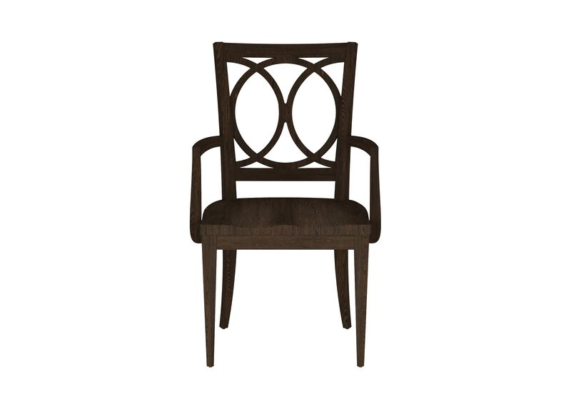Cyra Wood-Seat Armchair
