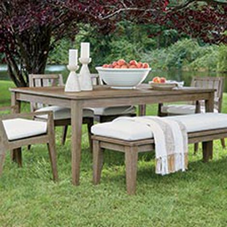 Bridgewater Cove Teak Dining Table Product Tile Hover Image 404070   790