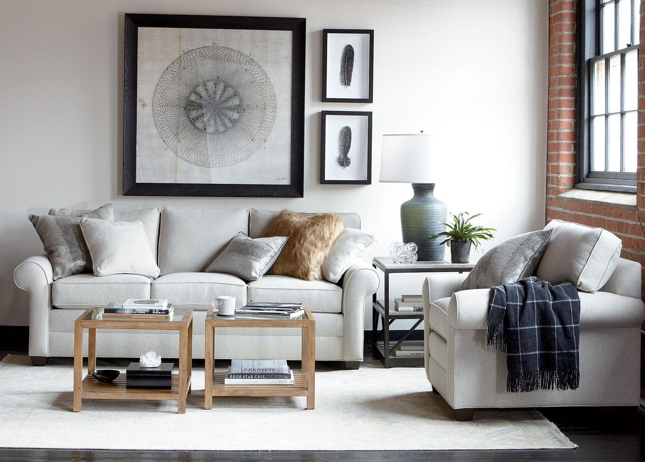 Bennett Roll-Arm Sofa, Quick Ship | Sofas & Loveseats | Ethan Allen