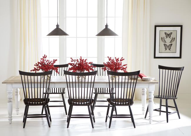 Miller Rustic Dining Table   Dining Tables   Ethan Allen