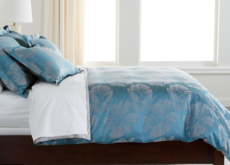 Susana Blue Floral Duvet Cover ,  , large_gray
